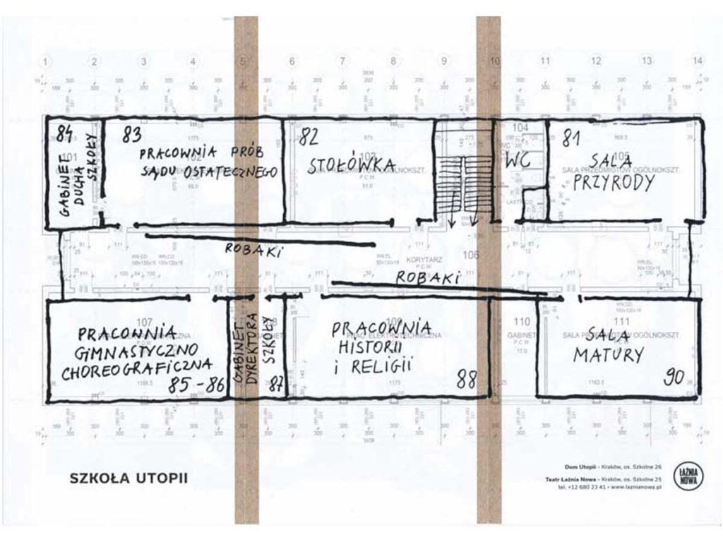 Szkoła Utopii - plan