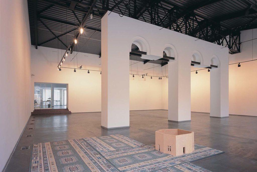 Prace na podłodze i na ścianie - Tryptyki nawracania, Marek Chlanda
